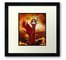 Goddess of the Underworld Framed Print