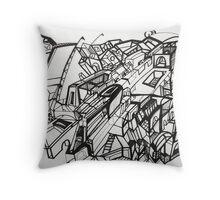 Dazed City '13 Throw Pillow