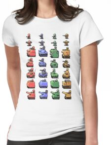 Unit sheet Womens Fitted T-Shirt