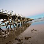 My Angle on the Coffs Jetty by Lianne Wooster