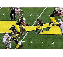 MICHIGAN vs OHIO STATE MICHIGAN STADIUM ANN ARBOR MICHIGAN NOVEMBER 2011 Photographic Print