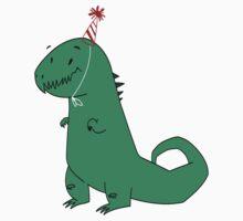 Birthday Dinosaur by TwinMaster
