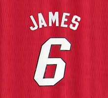 Lebron James Jersey iPhone Case by TheTubbyLife