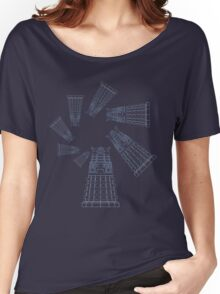 Dalek Spiral Women's Relaxed Fit T-Shirt