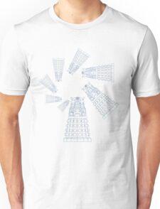Dalek Spiral Unisex T-Shirt