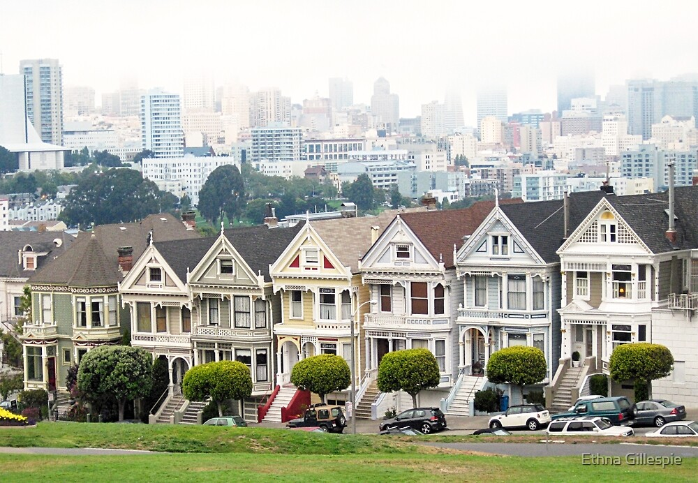 Painted Ladies  by Ethna Gillespie