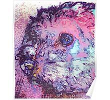 Purple Pooch Poster
