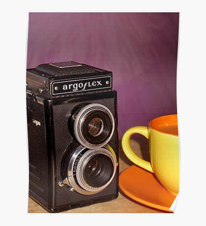 Argus Argoflex E and Coffee Poster