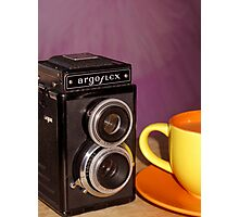 Argus Argoflex E and Coffee Photographic Print