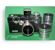 Argus C3 with Lenses Metal Print
