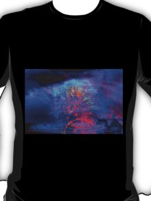 """""""Fire Fighters in the Sky"""" --Dedicated to the Yarnell Fire 19""""   T-Shirt"""
