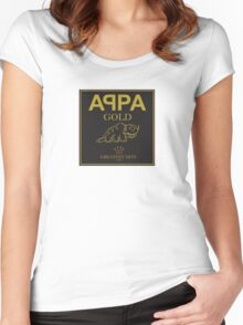 Appa Gold Women's Fitted Scoop T-Shirt