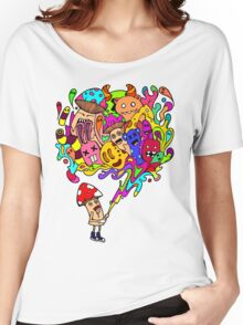Mushroom Jizz Women's Relaxed Fit T-Shirt