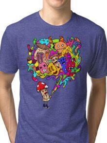 Mushroom Jizz Tri-blend T-Shirt