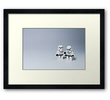 'I had friends on that Death Star.' Framed Print