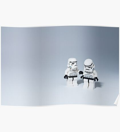 'I had friends on that Death Star.' Poster