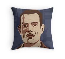 Bioshock - Andrew Ryan Propaganda Throw Pillow