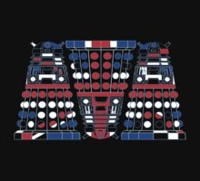 Union Jack Daleks One Piece - Short Sleeve