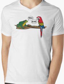 How I met your mother Willem Dafoe Mens V-Neck T-Shirt
