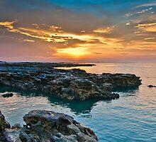 Nightcliff Sunset by Mark Knighton