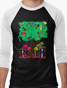 Magical Tree Men's Baseball ¾ T-Shirt