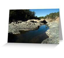 Rocky Creek Glacial Area Greeting Card