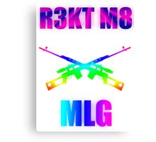 MLG | Rekt m8 | v2 Canvas Print