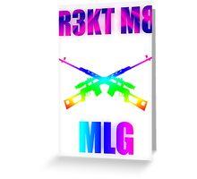 MLG | Rekt m8 | v2 Greeting Card