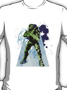 Master Chief Abstract T-Shirt