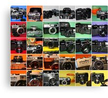 Camera Collage II Canvas Print