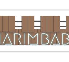 marimbabe Sticker