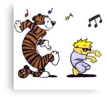 Calvin And Hobbes Fun Canvas Print