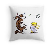 Calvin And Hobbes Fun Throw Pillow