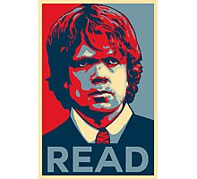 Tyrion Reads Photographic Print