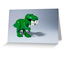 Beware of dinosaurs Greeting Card