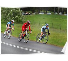 Herald-Sun tour Riders at Rokeby Gippsland Poster