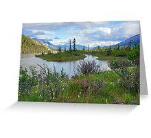 Athabasca River, Alberta Greeting Card