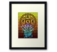 Ganesha Diamond Realm Framed Print