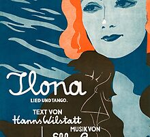 TLONA (vintage illustration) by ART INSPIRED BY MUSIC