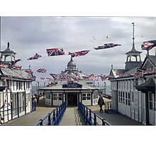 JUBILEE CELEBRATIONS ON THE PIER Photographic Print