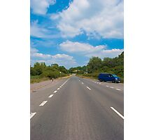 The Long Road Home.. Photographic Print