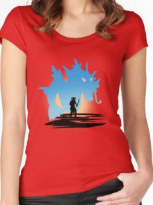 Fus Ro DOS! Women's Fitted Scoop T-Shirt