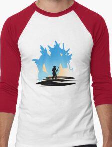 Fus Ro DOS! Men's Baseball ¾ T-Shirt