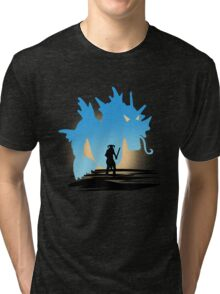 Fus Ro DOS! Tri-blend T-Shirt
