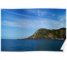 View from Ilfracombe Harbour. Poster