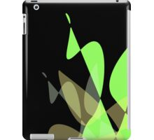 Green & Black Graphic iPhone/iPod & iPad iPad Case/Skin