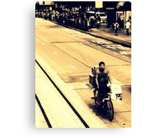 The Cyclist Canvas Print