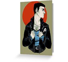 Punk!Spock Desert Greeting Card