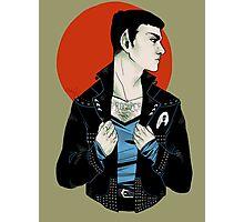 Punk!Spock Desert Photographic Print
