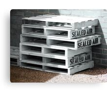 Sealed Air is so Fresh Canvas Print